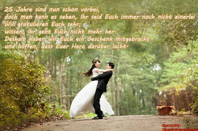 Lll Gedichte Zur Silberhochzeit Verse Für Freunde Oder