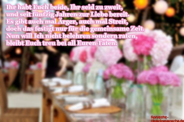 Lll Glückwünsche Zur Goldene Hochzeit Gratulationen Und